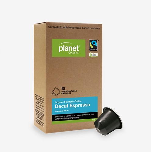 Planet Organic Coffee Capsules Decaf