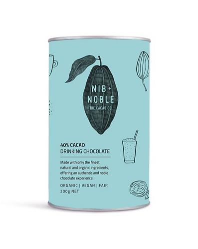Nib + Noble 40% Cacao Organic Drinking Chocolate