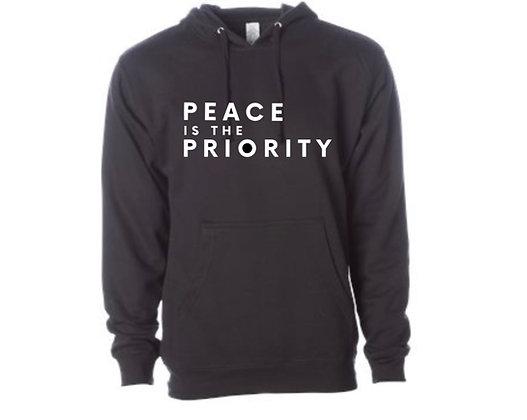 Peace is a Priority Hoodie