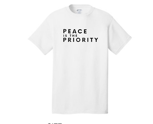 Peace is a Priority