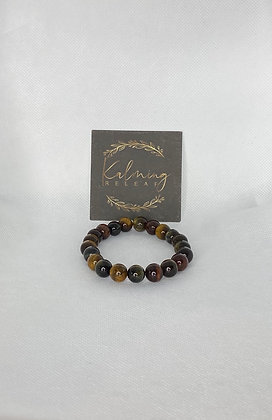 Colorful Tiger Eye 10mm