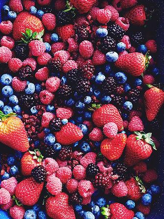 Vitalstoffe Beeren Gesunde Ernährung Vitamine