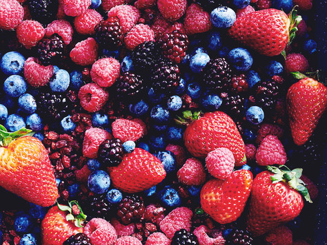 Berry Mango Smoothie Parfait