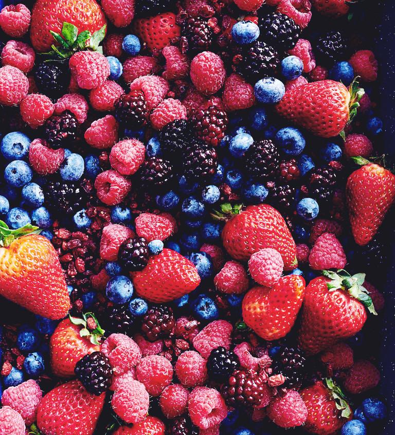 Berries Healthy Snacks