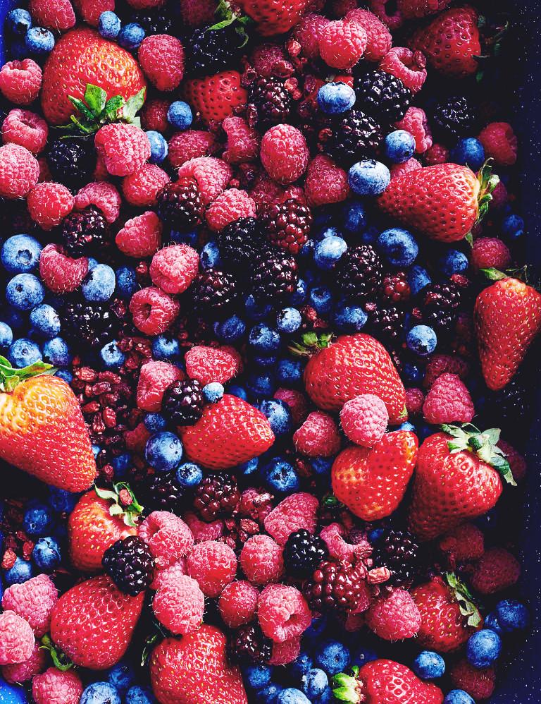 Triple Berry Protein Smoothie