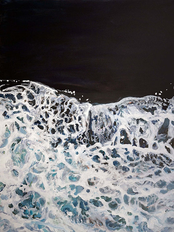 Jim-Park--Ferry-Wake--40x30--acrylic-on-