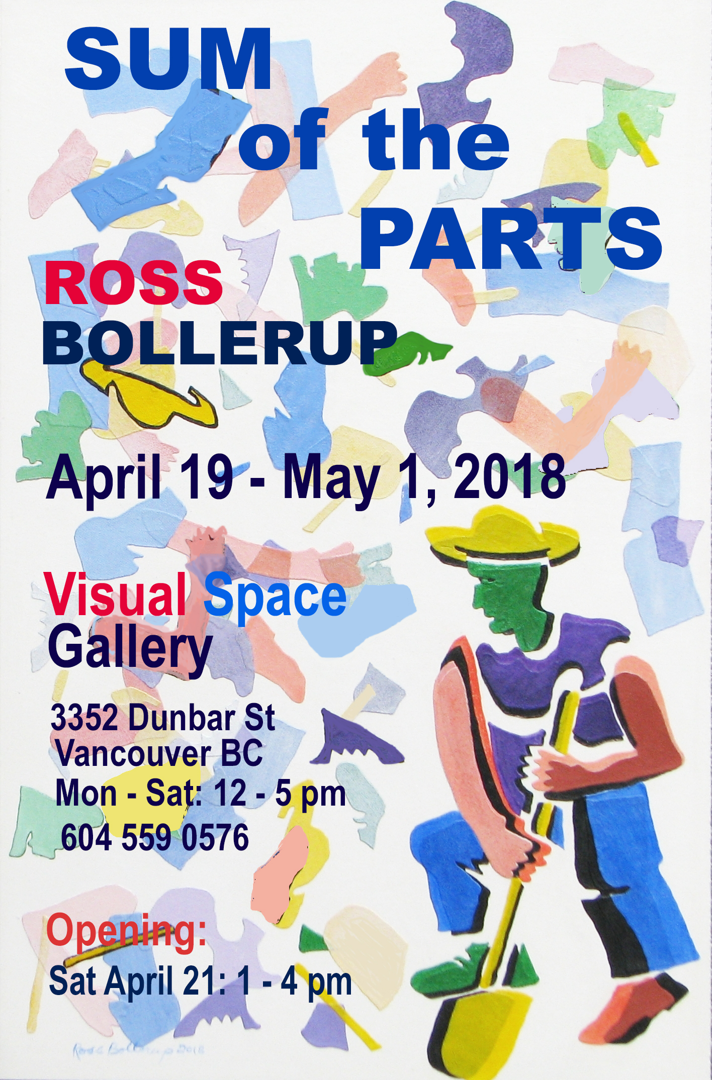 Poster  for Sum of the Parts  Ross Bollerup