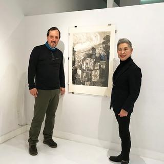 Jorge Martinez Garcia with Yukiko Onley