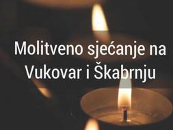 Dan sjećanja na žrtvu Vukovara i Škabrnje - 18.11.2020 - zvonjava zvona u 18.00 sati