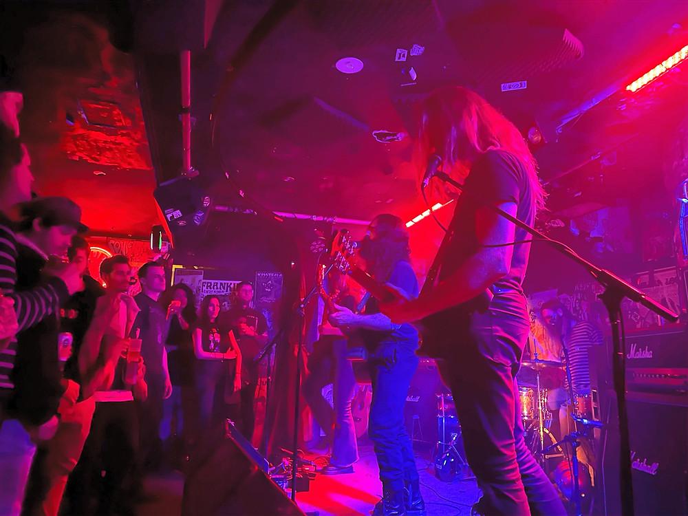 Death by carrot frankies pizza sydney lemmy lager motorhead tribute