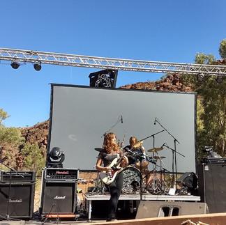Blacken, Alice Springs