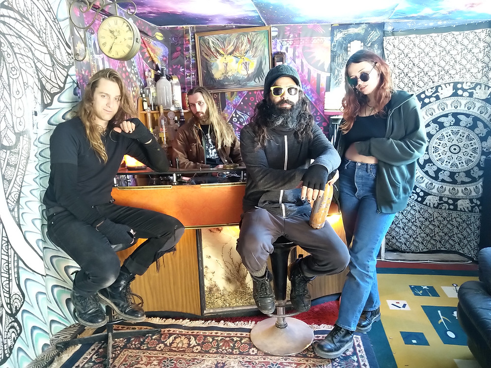 Death by Carrot, Andamooka, Riffs, Gina, Black Marsha Jr