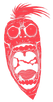 Main Picture Logo-Single Color-Red-Verti