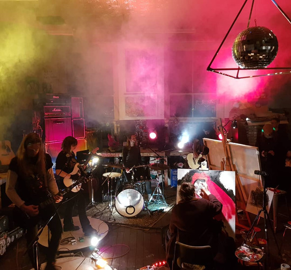 Art Battle, Mixed Spice Creative Studios
