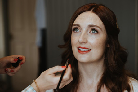 bride whitstable makeup
