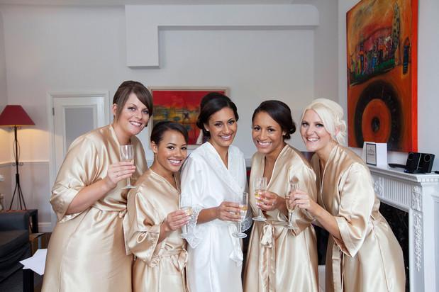Dawkins bridal party