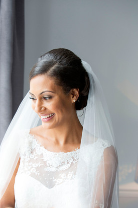 bride wedding makeup