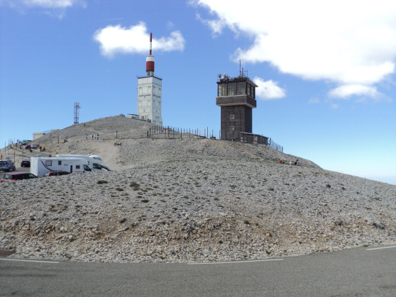 1. Cycle up to top of Mount Ventoux.
