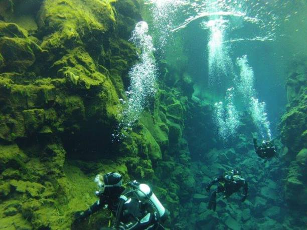 Dive in Glacier waters at Silfra