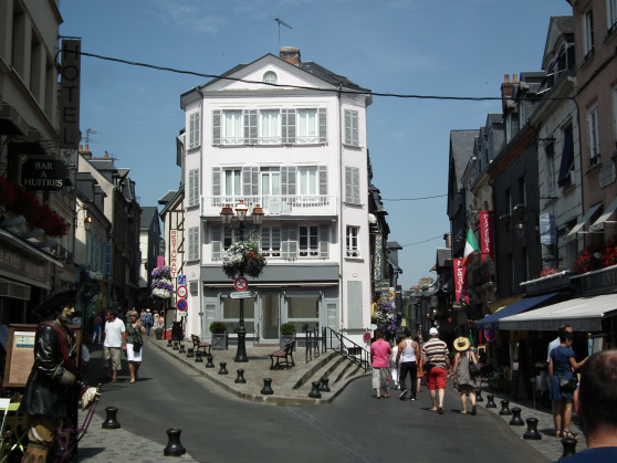 2. Walk the streets of Honfleur