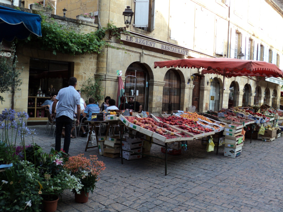 6.  Go to the market in Sarlat