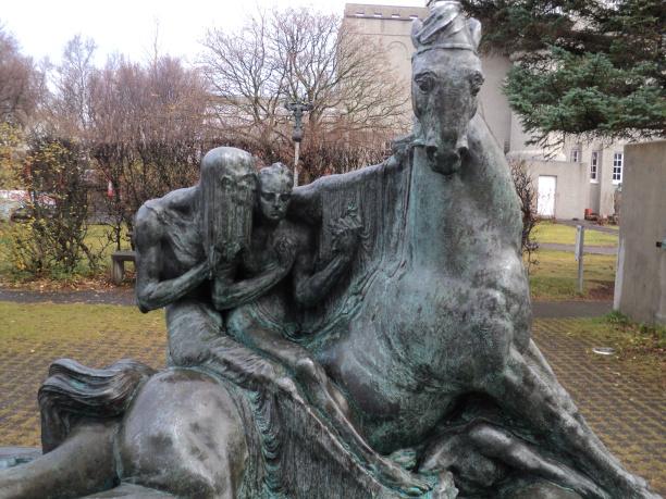 The Einar Jonsson Sculpture Park