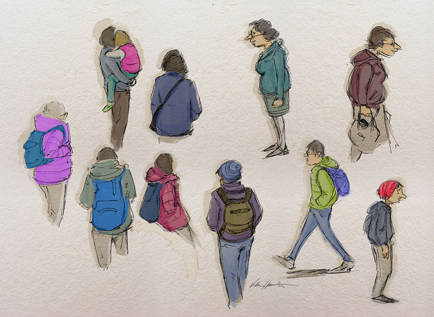 Covent Garden Doodles