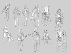 Band Doodles