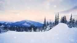 smoky snow