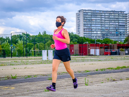 Mondmasker niet verplicht tijdens het sporten!