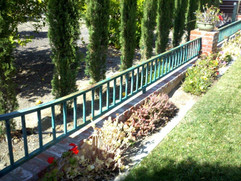 Perfect Candidate for recoating on Basic Ornamental Iron Railing