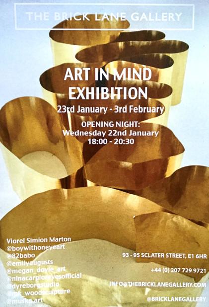 Art in Mind exhibition poster