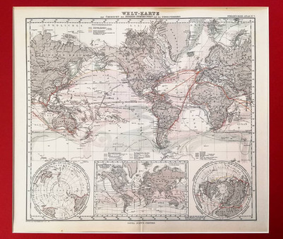 Mercator's Projection of the World