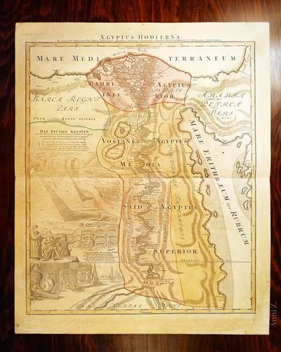 Aegyptus Hodierna, 1760