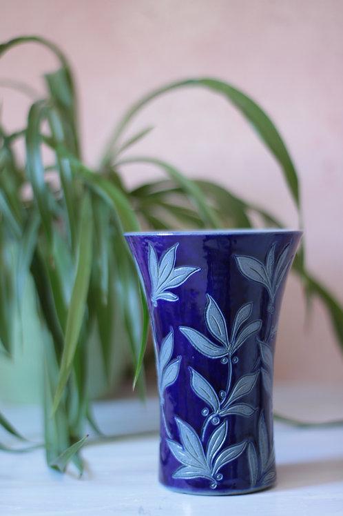 Vase en grès d'Alsace, signé Remmy Betschodorf