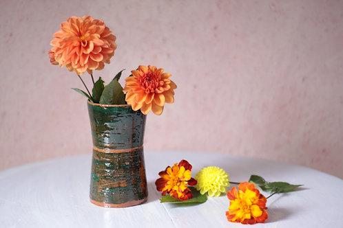 Petit vase en terre cuite wabi-sabi