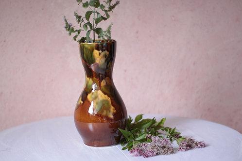 Vase vintage marbré