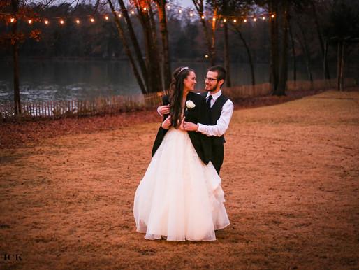 Rory + Molly | A Christmas Wedding | Riverwood Manor-Harrisburg, NC