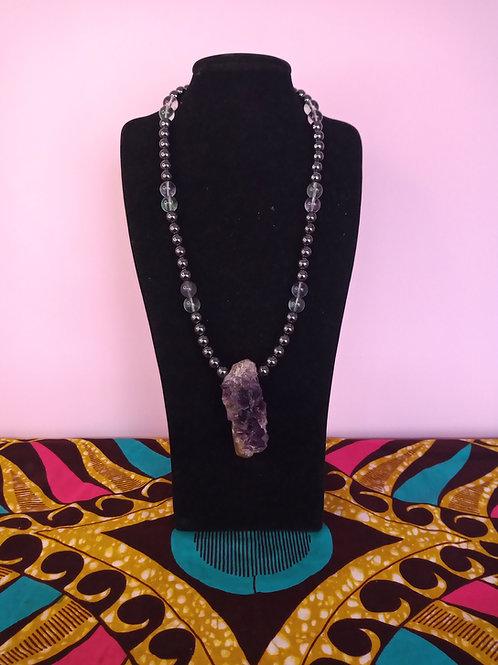 Amethyst Pendant & Necklace