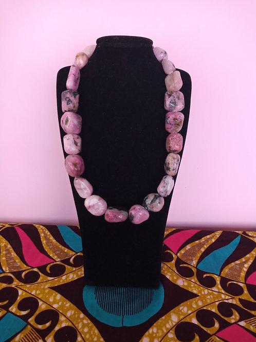 Cobalton Calcite Necklace