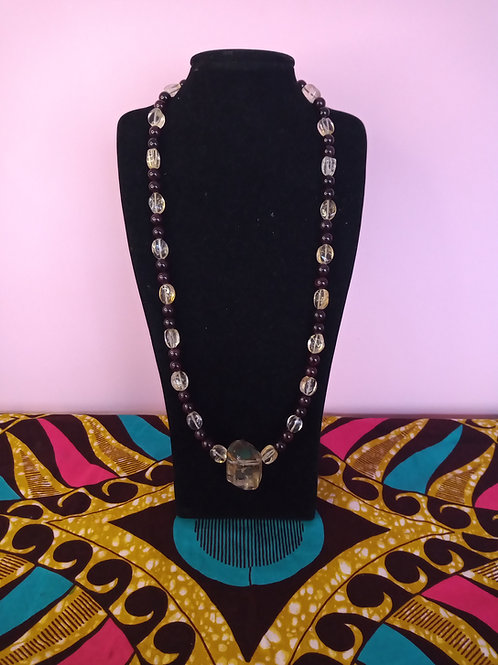 Citrine Pendant & Necklace