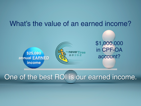 What's the value of an EARNED income?
