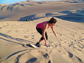 Sandboarding: déjate enganchar por las dunas de arena en Veracruz