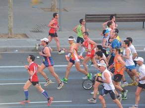 Maratonistas veracruzanos