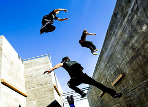 Parkour:intrépidos y audaces
