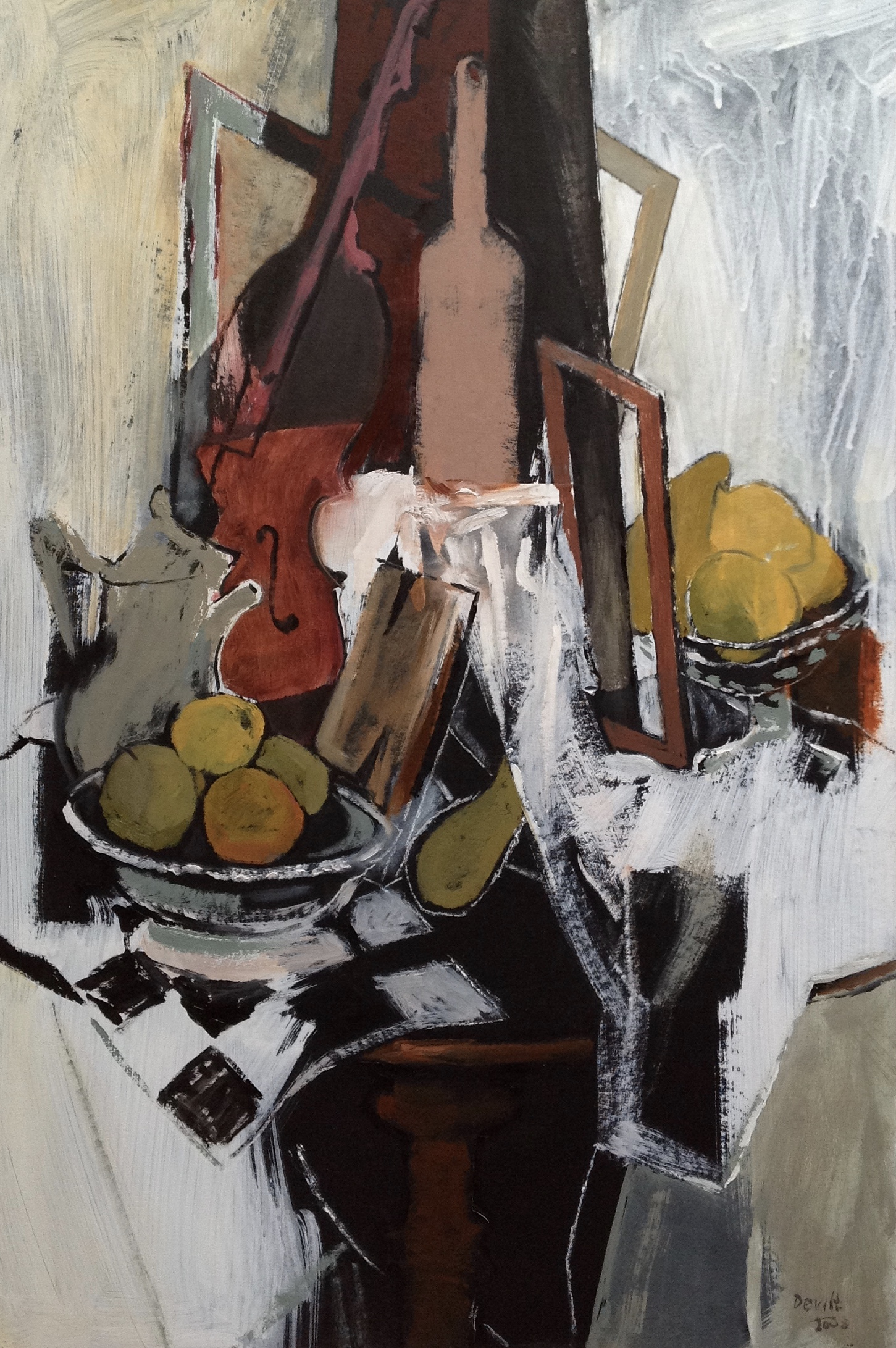 Still Life with a White Table Cloth