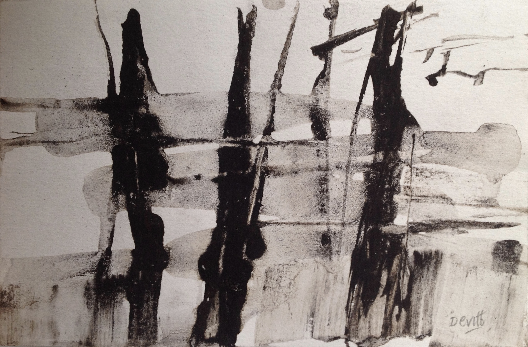 Little ink Landscape v