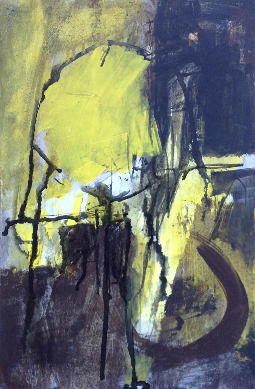 Abstract and Lemon Yellow