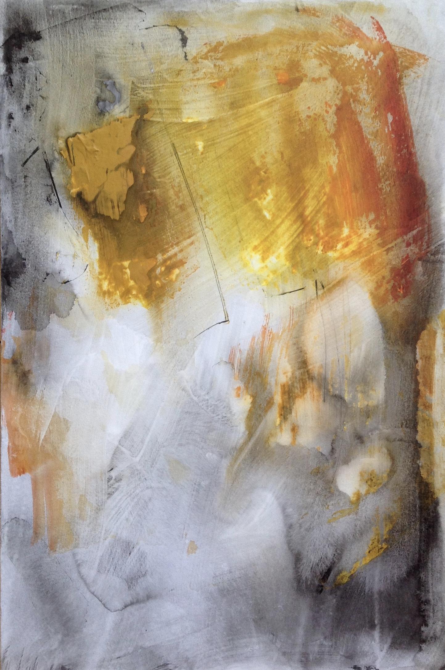 Abstract Hint of Autumn