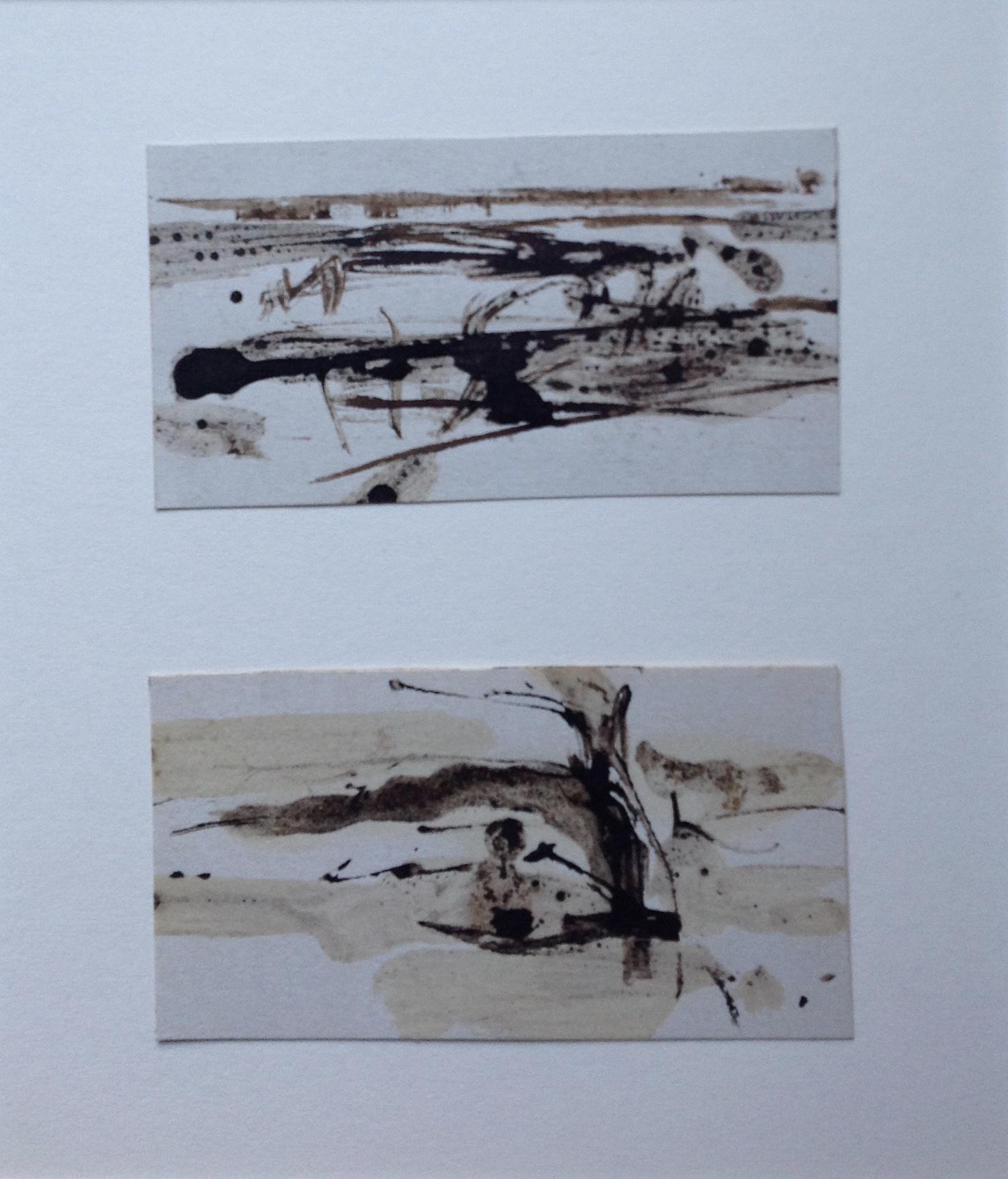 Two Little Ink Landscapes iv